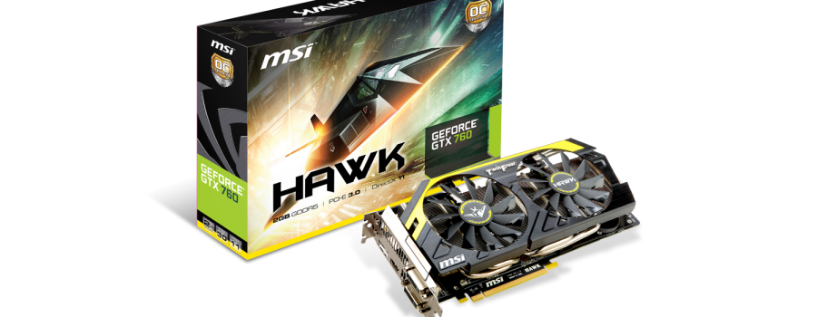 MSI GeForce GTX760 Hawk