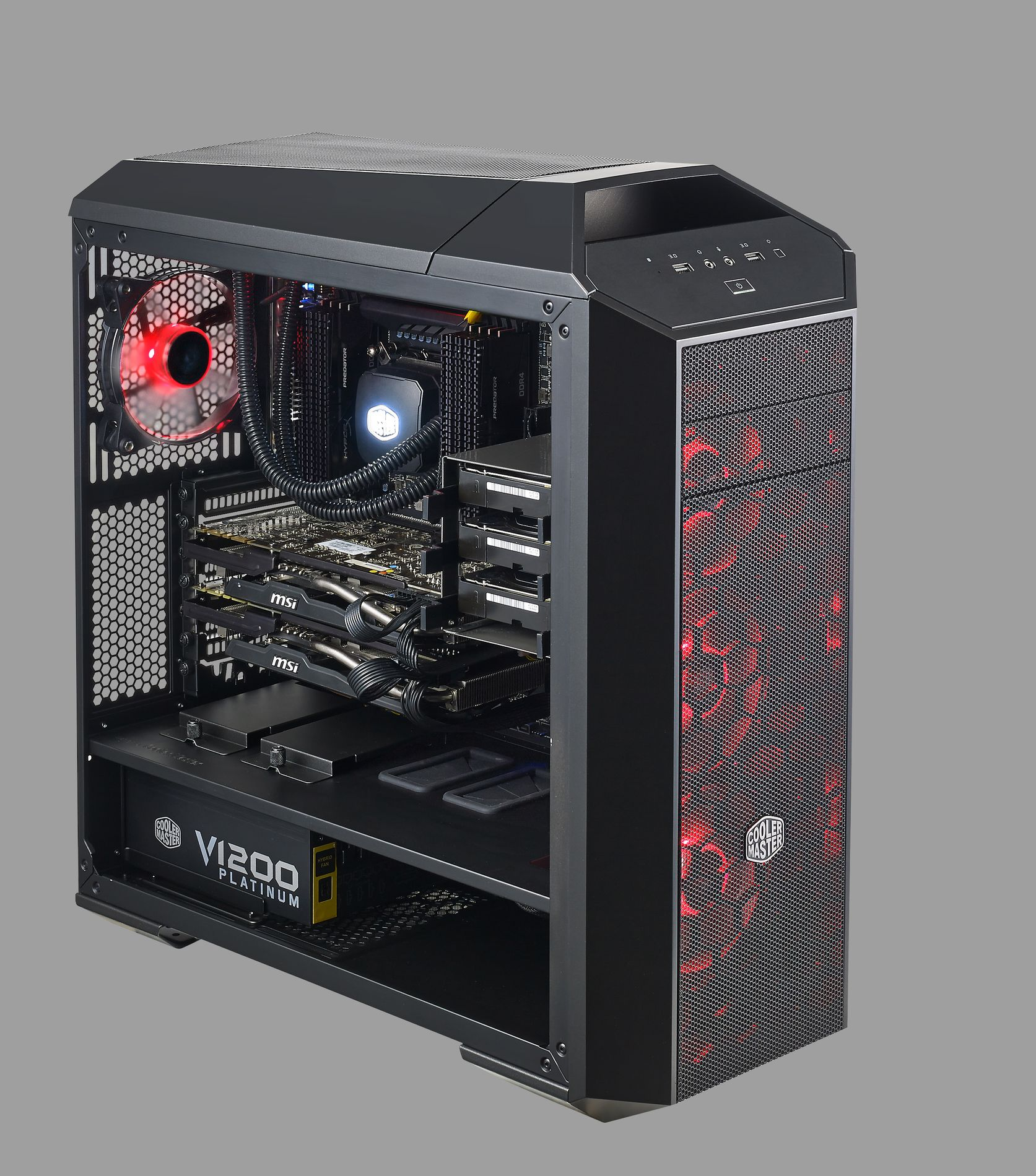 MasterCase Pro 5 Upgrade Red 1