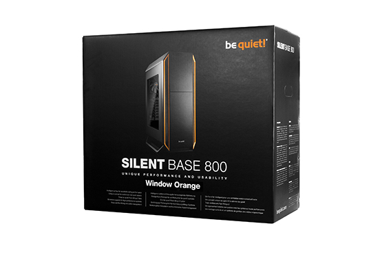 Silent Base 800 Window Orange 5