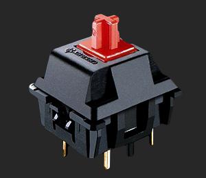 Apex M500 Cherry MX Red SwitchClose Up