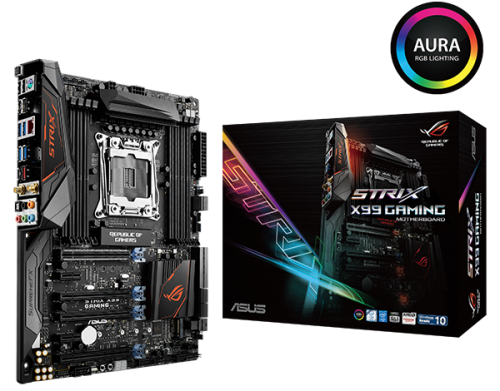 ROG Strix X99 Gaming with color box