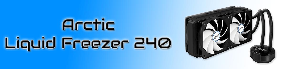 SLIDER - Arctic Liquid Freezer 240