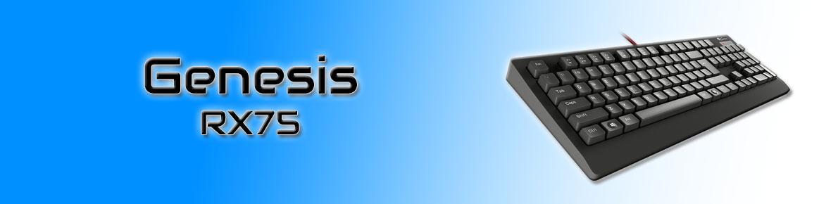 SLIDER - Genesis RX75