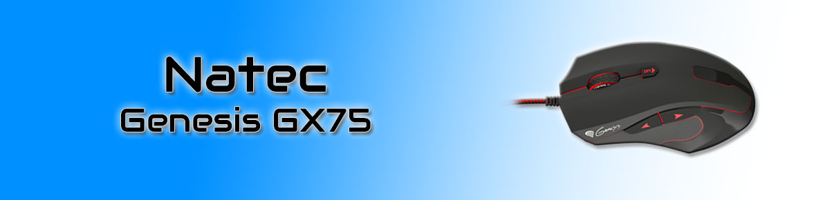 SLIDER - Natec Genesis GX75