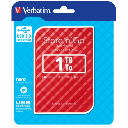 Verbatim Store'n'Go 1TB - 5