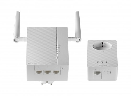 ASUS PL-AC56 Kit dual-band AV2 AC1200 Wi-Fi Powerline Adapter - Bottom