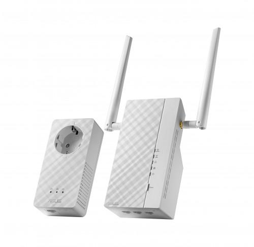 ASUS PL-AC56 Kit dual-band AV2 AC1200 Wi-Fi Powerline Adapter - Side