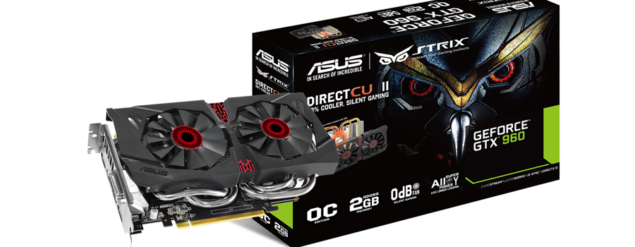 Asus GTX960 Strix 2GB OC