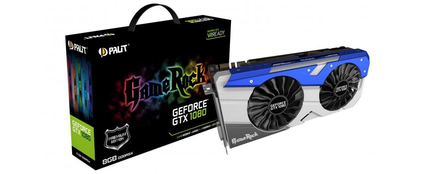 Palit GTX1080 GameRock Premium Edition