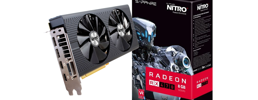 Sapphire Nitro+ Radeon RX 470 OC 8GB