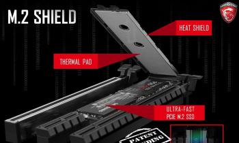 MSI przedstawia M.2 Shield – pierwsze chłodzenie dla dysków M.2