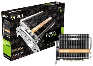 News - Palit GeForce GTX 1050 Ti KlamX 1