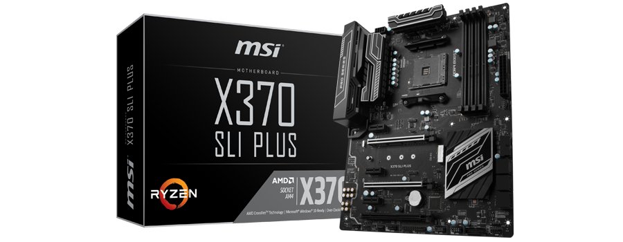 TEST MSI X370 SLI PLUS