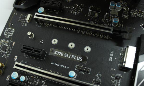 MSI X370 SLI PLUS