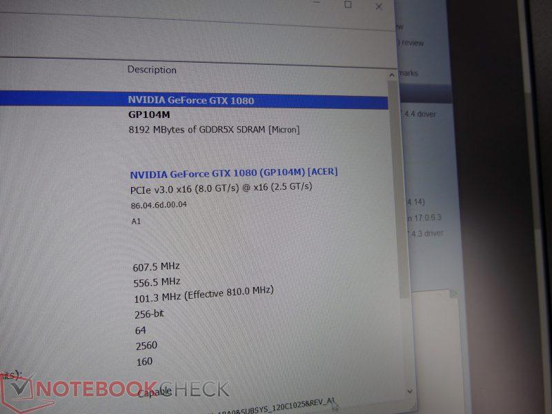 gtx 1080 mobile