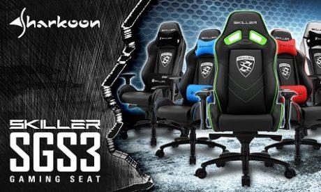 Sharkoon SGS3 – powiew świeżości w segmencie foteli dla graczy