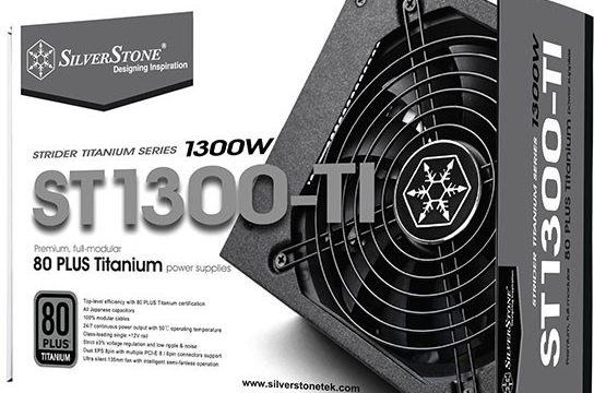 silverstone strider titanum 1300w