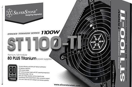 silverstone strider titanum 1100w