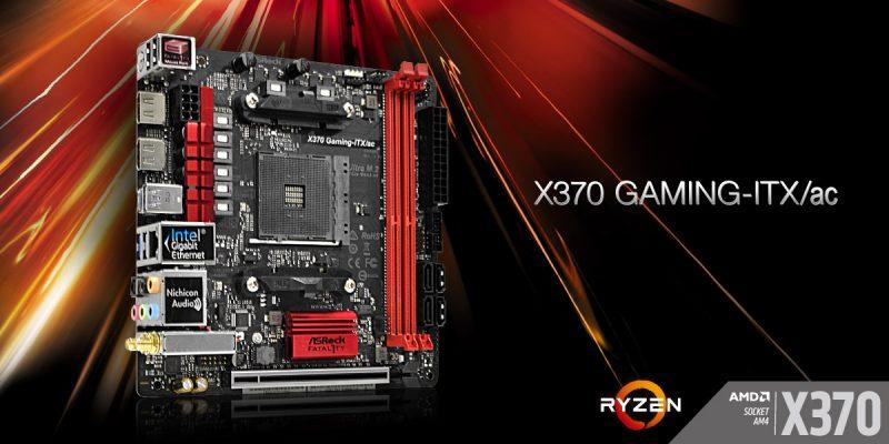 ASRock Fatal1ty X370 Gaming ITXac