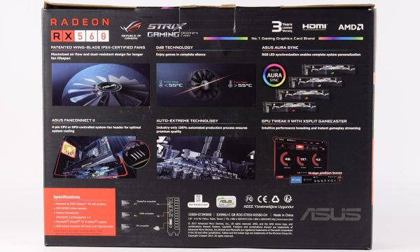 Asus Strix RX560 4GB