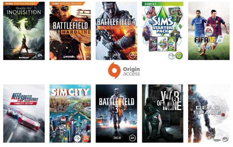 Origin-Access-Games