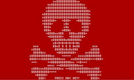 Infekcje ransomware w Europie Zachodniej, Rosji i na Ukrainie