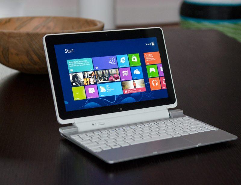 Acer W510 @ fot. Anandtech.com
