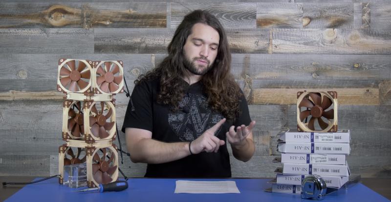 Steve Burge z GamersNexus opowiada o różnicach w wentylatorach