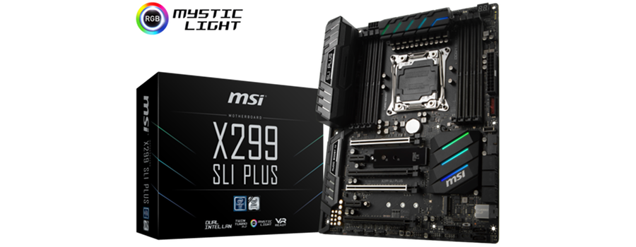 TEST MSI X299 SLI PLUS