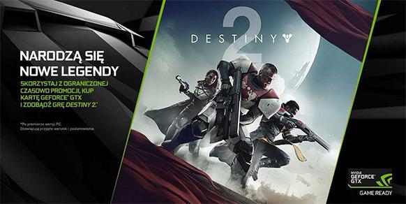 Destiny 2 promocja Nvidia