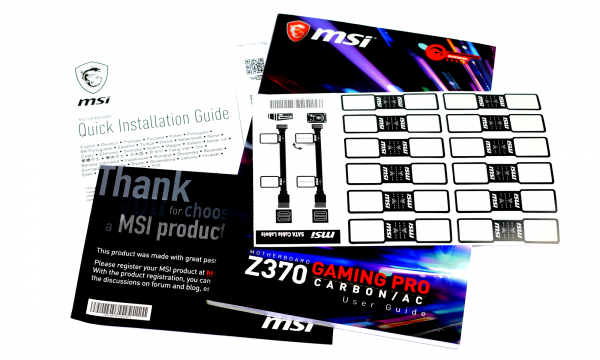 MSI Z370 Gaming Pro Carbon AC - pic4