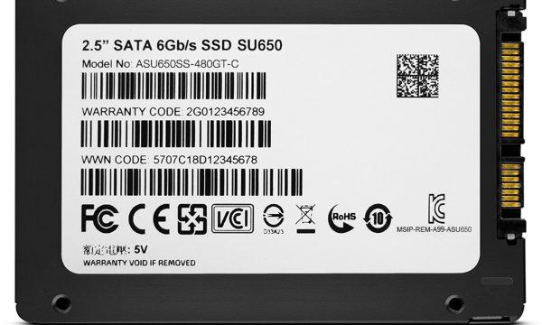 adata su650 dysk ssd 3d tlc nand
