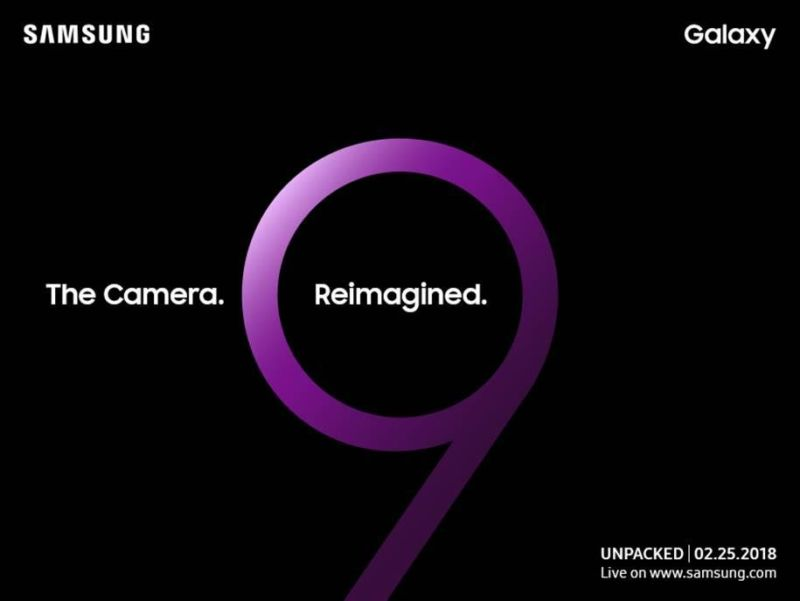 samsung galaxy s9 unpacked mwc
