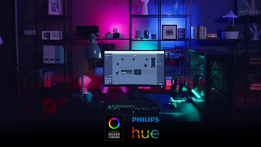 razer chroma phillips hue rgb