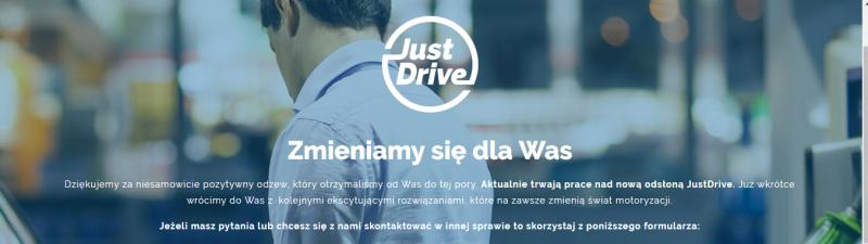 just drive nie działa