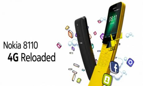 """Nokia 8110 (2018) – nadchodzi nowa odsłona kultowego """"banana"""""""