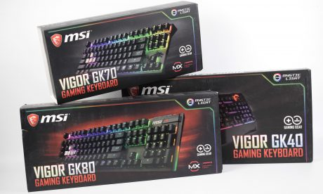 MSI VIGOR GK40, GK70 i GK80 w ITPC