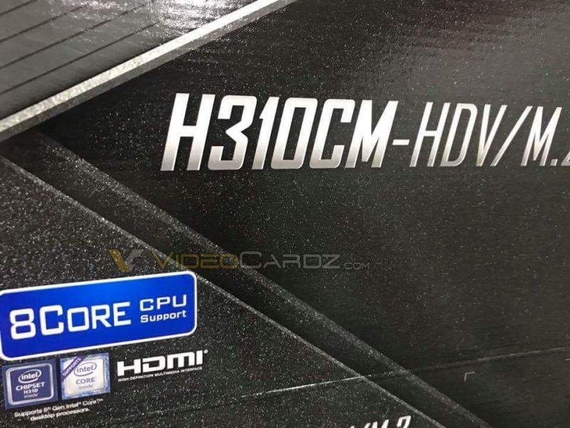 ASROCK-H310CM-HDV-8-core-Intel-CPU-support
