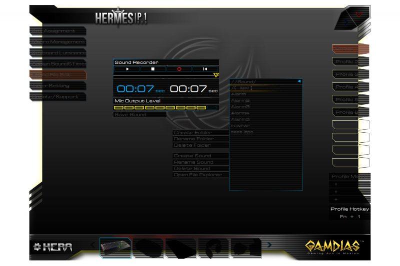 Gamdias Hermes P1 RGB - oprogramowanie7