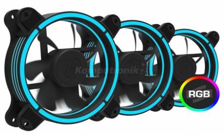 SilentiumPC Sigma Pro 120 KIT – zestaw wentylatorów RGB
