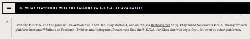 bethesda fallout 76 na PC tylko przez Bethesda.net