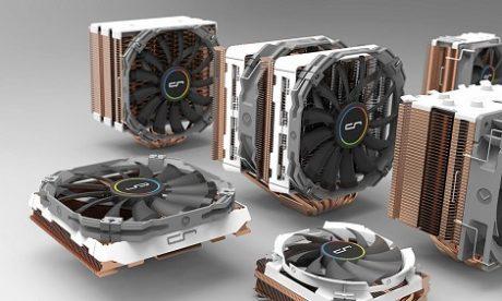 Cryorig prezentuje nowy cooler R5 oraz modele wykonane z  miedzi