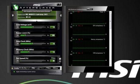 MSI AfterBurner Beta 11 z parametrami na ekranie w trakcie gry