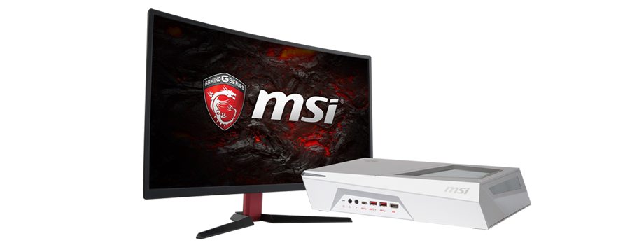 Test MSI Trident 3 Arctic z monitorem MSI Optix G27C