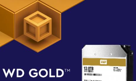 WD i jego złote dyski 12 TB