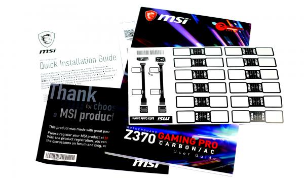 MSI Z370 Gaming Pro Carbon AC - pic4