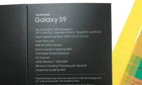 Prawdopodobna specyfikacja Galaxy S9